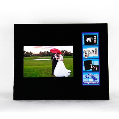 Black Glass Combo Photo Frame