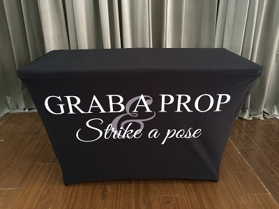 BLACK Stock Table Cover - 4ft