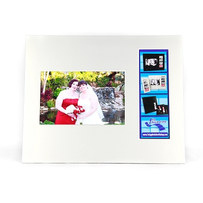 Silver Aluminum Combo Photo Frame