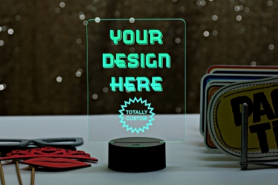 Custom LED Table Sign - Small