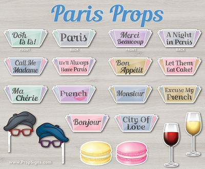 Paris Theme Set