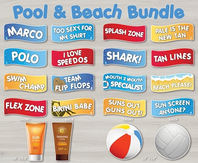 Pool Party / Beach Bundle