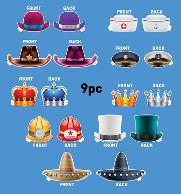 Hat Bundle 9pcs